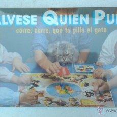 Juegos de mesa: SÁLVESE QUIEN PUEDA, CORRE, CORRE, QUE TE PILLA EL GATO, FALOMIR.. Lote 44392677