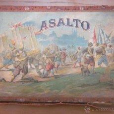 Juegos de mesa: EL ASALTO Y LA OCA DE BORRÁS,CAJA ORIGINAL,AÑOS 20. Lote 44412452