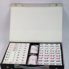 Juegos de mesa: JUEGO DE MAH JONG SIN USAR, COMO NUEVO, TAAÑO CAJA: 23X33 CM. 1960'S-70'S.. Lote 44447399