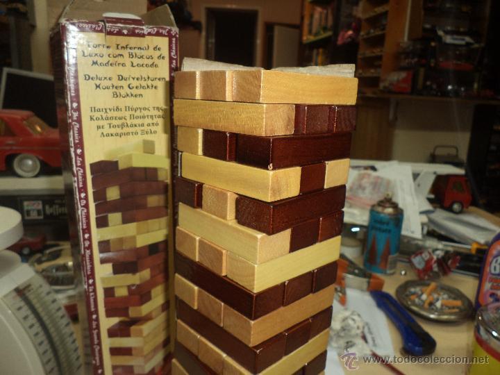 Jenga Torre Infernal Infernal Tower Con Blo Comprar Juegos De