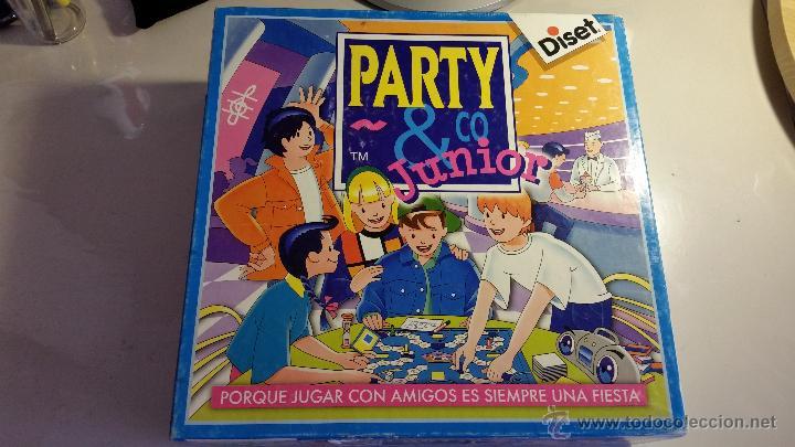 Juego De Mesa Party Co Junior De Diset Comprar Juegos De Mesa