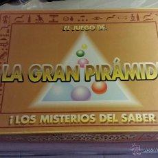 Juegos de mesa: JUEGO LA GRAN PIRÁMIDE . Lote 44731223