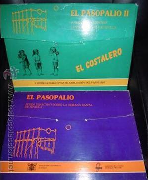 EL PASOPALIO Y EL PASOPALIO II-EL COSTALERO. JUEGO DE MESA DE LA SEMANA SANTA SEVILLANA. (Juguetes - Juegos - Juegos de Mesa)