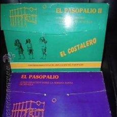 Juegos de mesa: EL PASOPALIO Y EL PASOPALIO II-EL COSTALERO. JUEGO DE MESA DE LA SEMANA SANTA SEVILLANA.. Lote 44804642