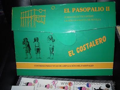 Juegos de mesa: El Pasopalio y El Pasopalio II-El Costalero. Juego de mesa de la Semana Santa Sevillana. - Foto 5 - 44804642