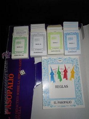 Juegos de mesa: El Pasopalio y El Pasopalio II-El Costalero. Juego de mesa de la Semana Santa Sevillana. - Foto 6 - 44804642