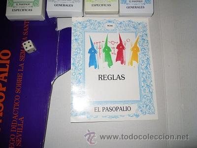 Juegos de mesa: El Pasopalio y El Pasopalio II-El Costalero. Juego de mesa de la Semana Santa Sevillana. - Foto 7 - 44804642