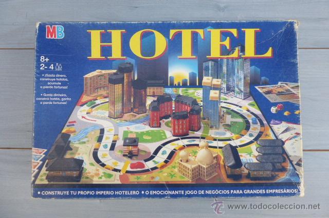 Juego De Mesa Hotel De Mb Anos 90 Casi Comple Comprar Juegos De