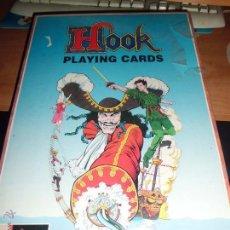 Jogos de mesa: HOOK PLAYING CARDS FALOMIR 1992 NUEVO PRECINTADO MUY DIFICIL. Lote 277679643