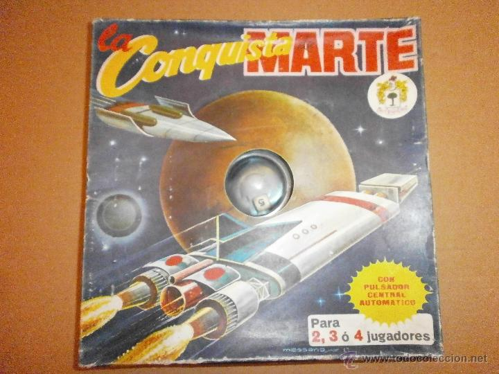 LA CONQUISTA DE MARTE MARCA PIQUE MASSANA (Juguetes - Juegos - Juegos de Mesa)