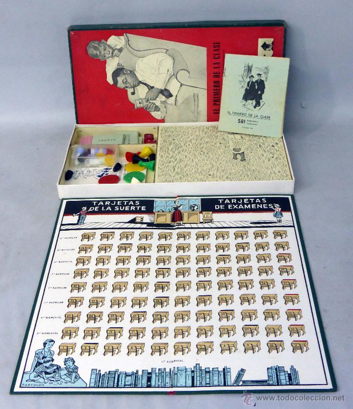 Juegos de mesa: El primero de la clase Juego mesa Crone Francisco Roselló años 50 - Foto 2 - 45050099