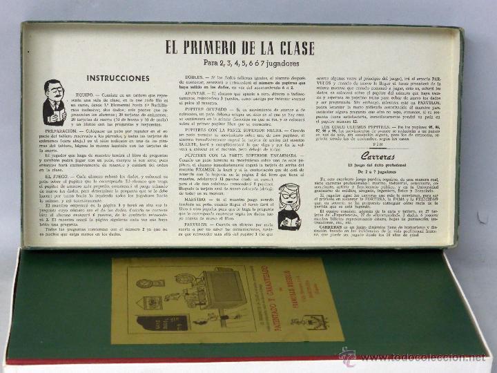 Juegos de mesa: El primero de la clase Juego mesa Crone Francisco Roselló años 50 - Foto 3 - 45050099