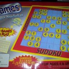 Juegos de mesa: JUEGO DE MESA SUDOKU COMPLETO. Lote 45103960