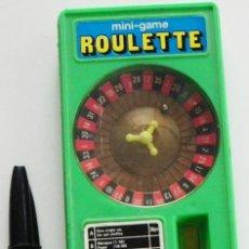 Juegos de mesa: MINI RULETA DE JUGUETE - FUNCIONA - MINI-GAME ROULETTE - JUEGO AZAR APUESTA - ¿ ANTIGUO ?. Lote 45324329