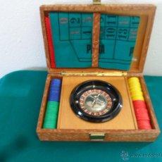 Juegos de mesa: JUEGO DE RULETA COMPLETO. Lote 45496658