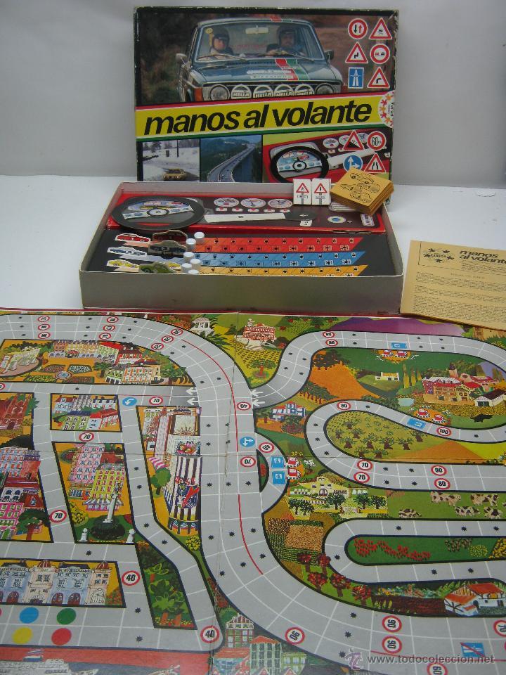 MANOS AL VOLANTE EDUCA - JUEGO AÑOS 70 (Juguetes - Juegos - Juegos de Mesa)