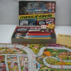 Juegos de mesa: MANOS AL VOLANTE EDUCA - JUEGO AÑOS 70. Lote 62469344