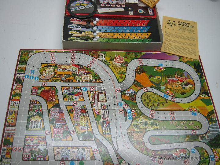 Juegos de mesa: Manos al volante Educa - juego años 70 - Foto 2 - 62469344