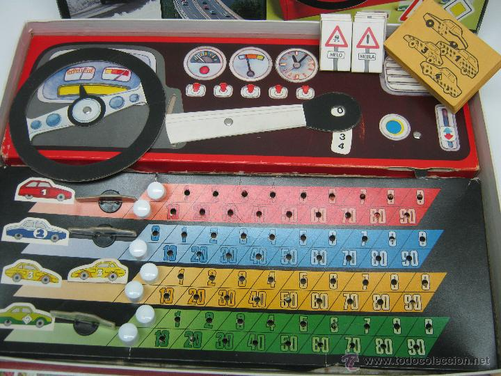 Juegos de mesa: Manos al volante Educa - juego años 70 - Foto 3 - 62469344