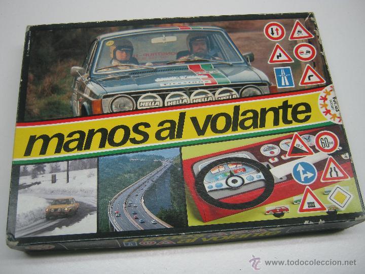 Juegos de mesa: Manos al volante Educa - juego años 70 - Foto 4 - 62469344