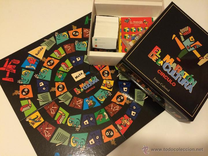 Juego de mesa el marat n de la cultura c rculo comprar for Flashpoint juego de mesa