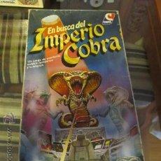 Juegos de mesa: JUEGO CEFA EN BUSCA DEL IMPERIO COBRA COMPLETO Y EN BUEN ESTADO DIFICIL PRIMERA EDICION. Lote 45661372