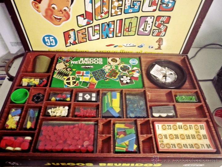 Juegos Reunidos 55 Geyper Con Bingo Comprar Juegos De Mesa