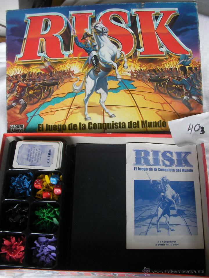 Risk El Juego De La Conquista Del Mundo 360 Comprar Juegos De