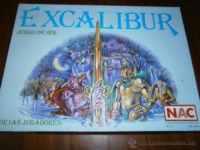 Nac Juego Excalibur Completo Y En Buenisimo Es Comprar Juegos De