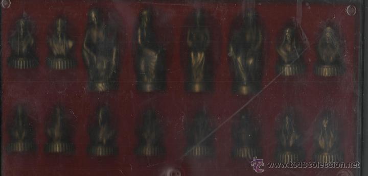 Juegos de mesa: BONITA CAJA TABLERO CON JUEGO DE AJEDREZ O DAMAS - Foto 4 - 45868814