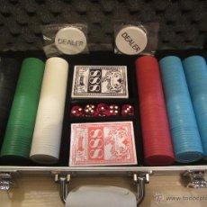 Juegos de mesa: MALETIN DE POKER. Lote 45893625