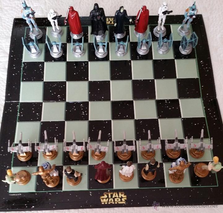 Ajedrez Star Wars Original Comprar Juegos De Mesa Antiguos En