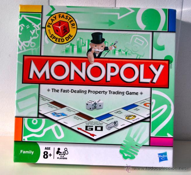 Monopoly Nuevo Play Faster 2008 Ingles Comprar Juegos De
