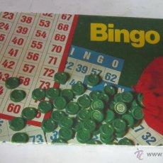 Juegos de mesa: JUEGO BINGO, 50 CARTONES, DE BORRAS, EN CAJA. CC. Lote 46031355