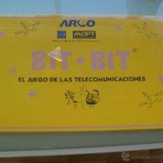 Juegos de mesa: BIT-BIT , EL JUEGO DE LAS TELECOMUNICACIONES . DEL MOPT , D.GRAL. DE TELECOMUNICACIONES .. SIN ABRIR. Lote 46044814
