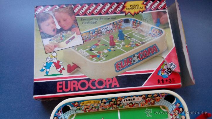 Juegos de mesa: juego de mesa feber eurocopa pistas diabolicas - Foto 3 - 46059495