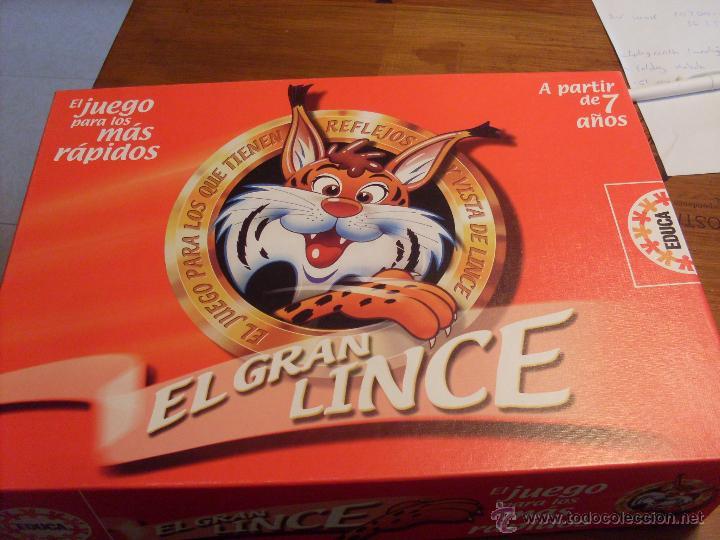 EL GRAN LINCE (EDUCA) (JU15) (Juguetes - Juegos - Juegos de Mesa)