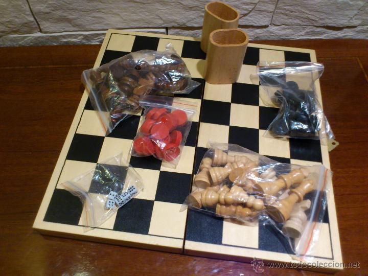 Backgammon Madera Damas Marigo Nuevo Todo Plegable Tablero Ajedrez De xErCBeQdoW