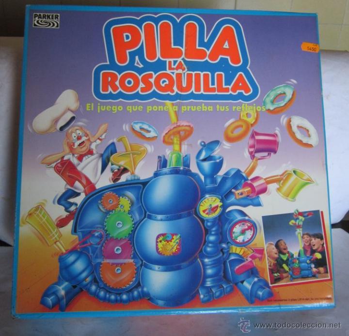 JUEGO PILLA LA ROSQUILLA, DE PARKER, EN CAJA,. CC (Juguetes - Juegos - Juegos de Mesa)