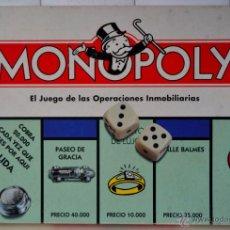 Juegos de mesa: JUEGO DE MESA MONOPOLY * PARKER FIGURAS METALICAS * BARCELONA. Lote 46247362