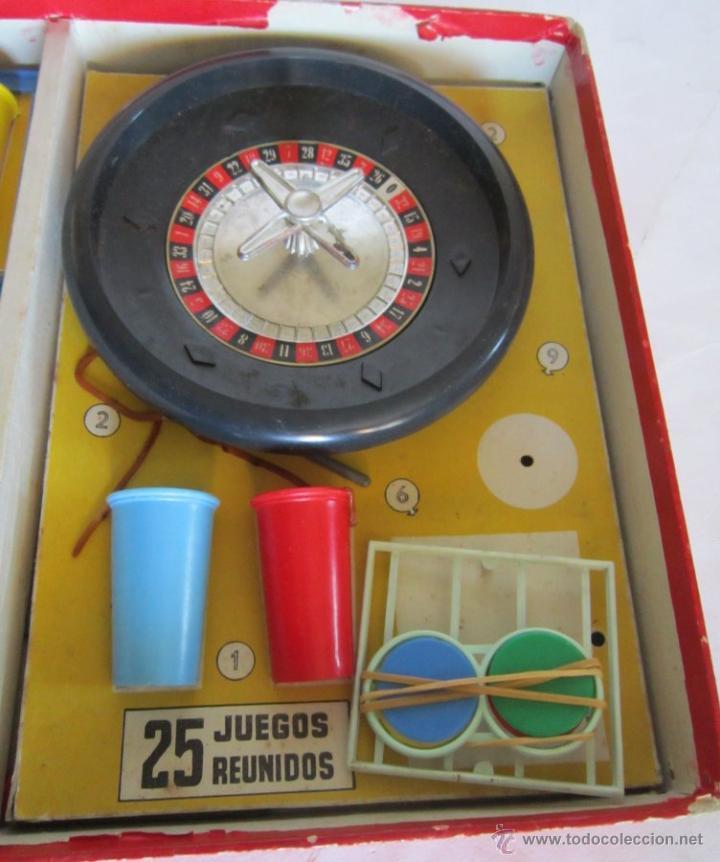 Juegos de mesa: JUEGO DE MESA.JUEGOS REUNIDOS DEL 25, GEYPER, EN CAJA. DE LAS PRIMERAS EDICIONES, UNA JOYA. VV - Foto 4 - 46305199