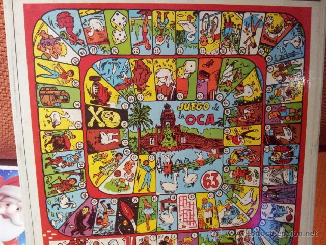 Tablero de la oca 33 x 33 y el parchis a os 80 comprar juegos de mesa antiguos en - La oca juego de mesa ...
