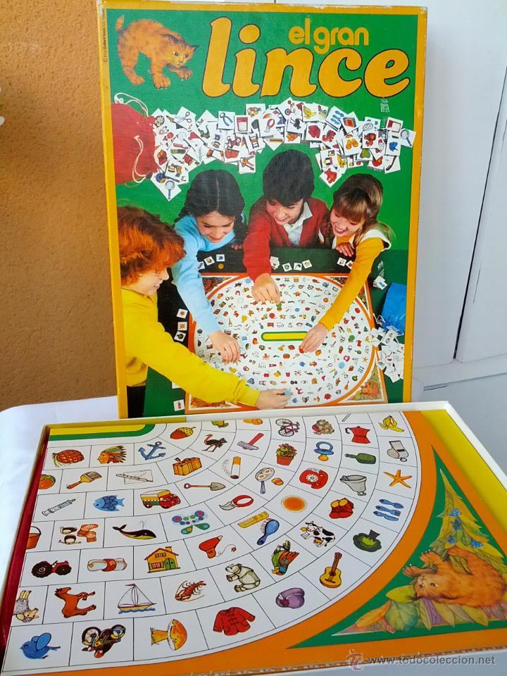 El Gran Lince De Educa Anos 80 Completo Comprar Juegos De Mesa