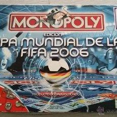 Juegos de mesa: MONOPOLY COPA DEL MUNDO FIFA 2006. Lote 46476561