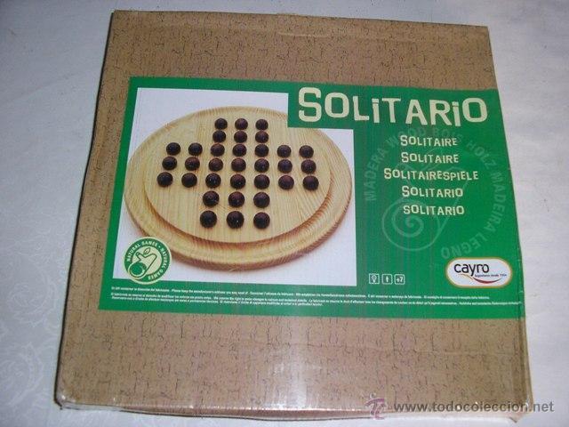 El Solitario Juego De Mesa Madera Cayro Nuevo Comprar Juegos De