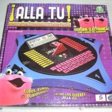 Juegos de mesa: ALLA TU JUEGO ELECTRONICO DEL PROGRAMA DE TV CON LLAMADA BANQUERO - GIOCHI PREZIOSI - NUEVO. Lote 107936766