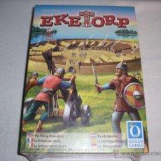 Juegos de mesa: EKETORPS JUEGO ESTRATEGIA QUEEN GAMES - NUEVO A ESTRENAR. Lote 46490298