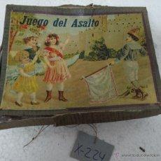 Juegos de mesa: ANTIGUO JUEGO DEL ASALTO - 225. Lote 43028135