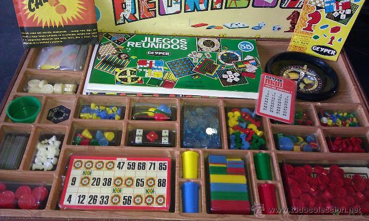 Antiguo Juego De Mesa Juegos Reunidos Geyper 55 Comprar Juegos De