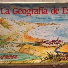 Juegos de mesa: JUEGO DE NAC 1983 LA GEOGRAFIA DE ESPAÑA. Lote 46692572